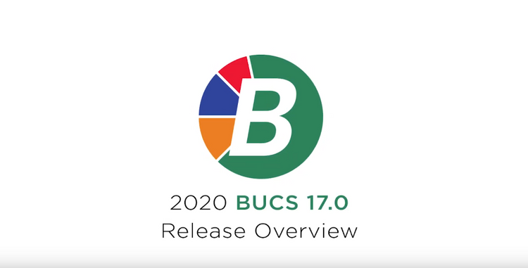 Municipal Software BUCS 17 Release Updates