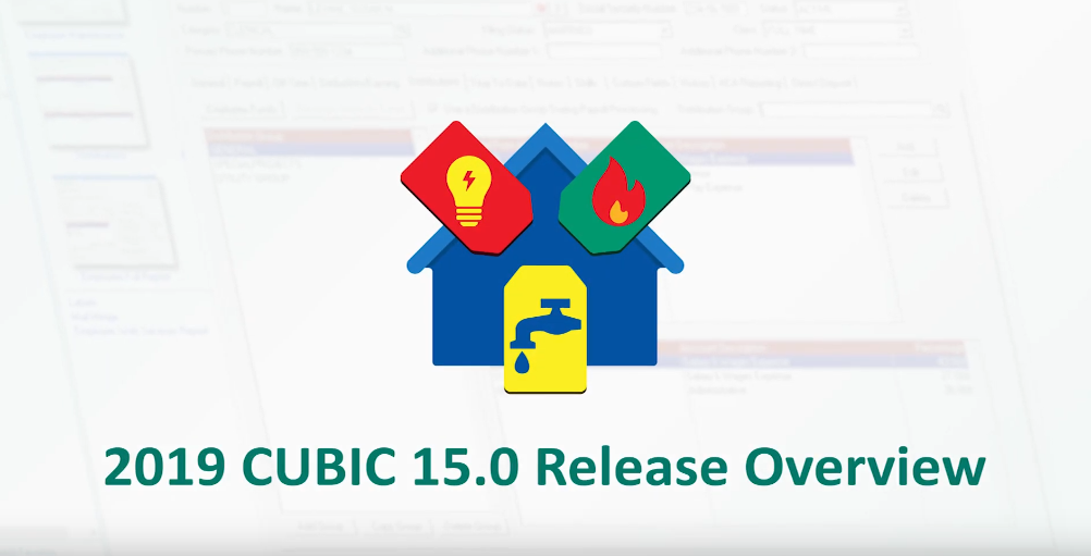 Municipal Software CUBIC 15 Release Updates